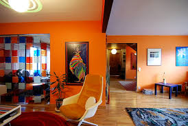 orange livingroom several pros and cons orange living rooms in your home