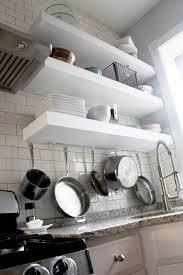 Floating Shelves Kitchen by Ana White Bigger Stronger Kitchen Floating Shelves Diy Projects