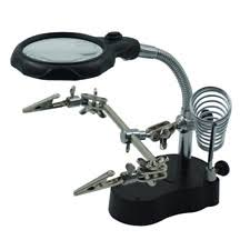 Desk Lamp With Magnifying Glass Desk Lamp With Magnifier Ebay