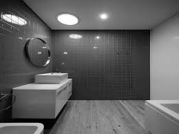 Modern Bathroom Colour Schemes - bathroom tile grey tiles bathroom colour scheme interior design