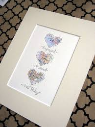 wedding gift map 214 best crafty maps images on anniversary gifts