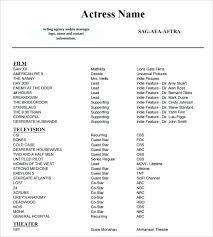 musical theatre resume exles this is theatre resume templates articlesites info