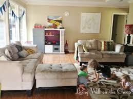 Kid Friendly Living Room  Modern House - Family friendly living room