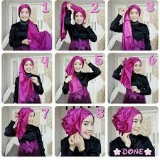 tutorial hijab syar i untuk pernikahan 20 tutorial hijab pengantin untuk akad nikah resepsi 2018