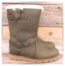 s ugg australia emalie boots ugg australia womens glen chocolate mini leather sheepskin boots