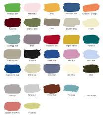 annie sloan chalk paint colors chart home painting