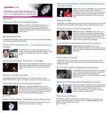 antony and the johnsons news