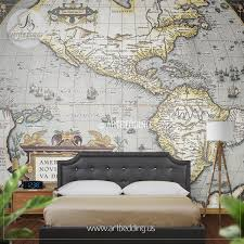 wall murals wall tapestries canvas wall art wall decor tagged first atlas of america in the world 1570 wall mural self adhesive peel