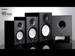 black friday studio monitors yamaha powered studio monitor speaker