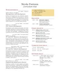 cv or resume sharelatex éditeur latex en ligne