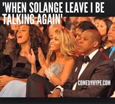 Solange Meme - whatjayzsaidtosolange the internet reacts to solange jay z s