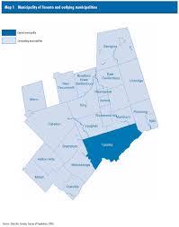 Map Of Toronto 1 Municipality Of Toronto And Outlying Municipalities