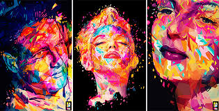 colorful portraits alessandro pautasso feel desain
