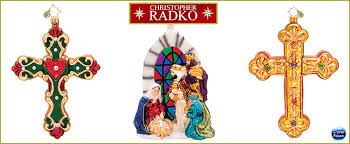 christopher radko religious ornaments