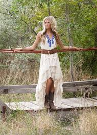 high low wedding dress with cowboy boots simple country wedding dress with cowboy bootscherry
