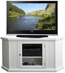 Corner Wood Tv Stands Amazon Com Corner Tv Stand In White Kitchen U0026 Dining
