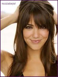 hairstyles for diamond shaped face 5 hairstyles for diamond shaped faces female with bangs for