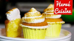 herve cuisine tarte au citron cupcakes citron meringué avec hervé cuisine et allyfantaisies