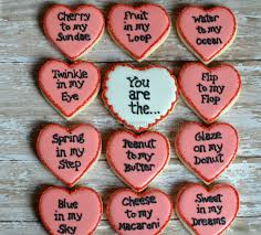 valentines day cookies s day cookies not your everyday cookie