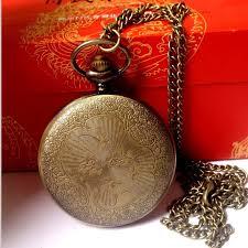 vintage necklace pocket watch images Vintage pocket watch necklace for dads native arrows jpg