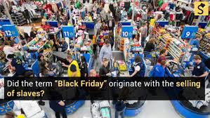fact check how did black friday get its name