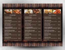 menu template 21 free psd eps ai indesign word pdf
