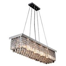 discount rectangular crystal chandelier dining room 2017 crystal