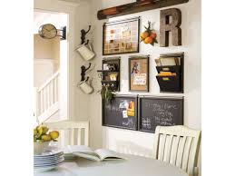 barn house decor kitchen wall organizer message center wall