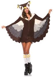 leg avenue cozy owl costume halloween animal bird animal