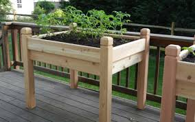 elevated garden planter trellis optional shopirago