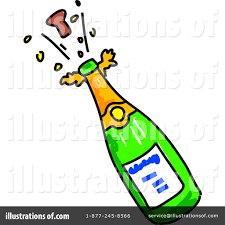 champagne toast cartoon champagne clipart champange pencil and in color champagne
