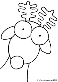 christmas colouring pages cute animals