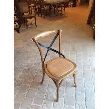 chaise bistrot chaise bistrot bois et fer harmonie du logis