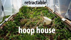 Pvc Raised Garden Bed - rectractable hoop house on a raised garden bed diy design