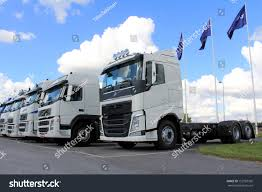 volvo trucks virginia lieto finland august 31 white volvo stock photo 152793392
