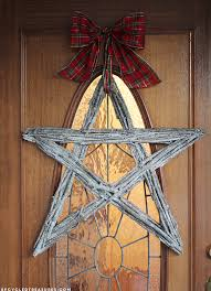 how to make a twig star wreath of stars and christmas