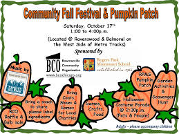 bowmanville community organization community fall festival and