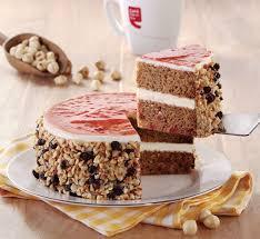 Celebration Cakes Hazelnut Karat Celebration Cake 700gms
