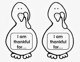 thankful turkey templates u2013 happy thanksgiving