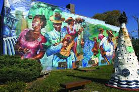 monumental exhibitions open doors to chicago history chicago neighborhood project aims to grow chicago s public art profile