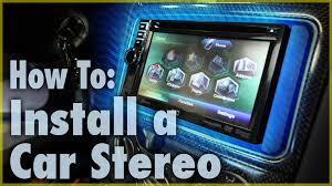 black friday car audio how to install a car stereo single u0026 double din car audio 101