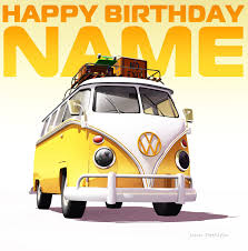 volkswagen clipart vintage happy birthday clip art clipart free clipart