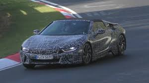 Bmw I8 3 Cylinder - 2018 bmw i8 spyder on the nürburgring 10 05 2017 youtube