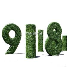 Artificial Topiaries - outdoor artificial topiary letter love wedding dongyi