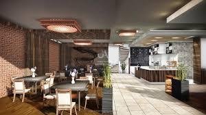 imagine a luxury coffee shop interior design in london