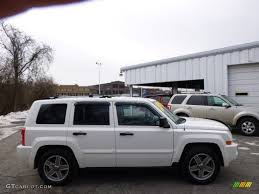 white jeep patriot back 2007 stone white jeep patriot limited 4x4 90277065 gtcarlot com