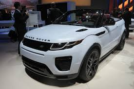 range rover convertible 2017 range rover evoque convertible video first look autoguide