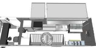custom food trucks 3d floor plan step van truck ft idolza