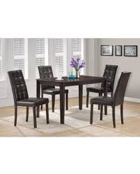 spectacular deal on monarch cappuccino dining table cappuccino