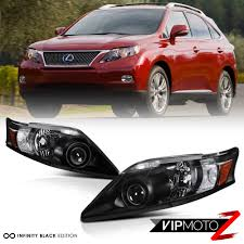 matte black lexus rx 350 2010 2012 lexus rx350 rx 350 black d4s xenon adaptive headlight